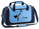 Mein Zwergenland Sporttasche Kinder Praktisch kompakt & robust Sporttasche mit Namen Kampfsport als...