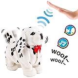 deAO Interactive Elektronisches Haustier-Hundespielzeug mit Bellen, Gehen, Schwanzwedeln,...