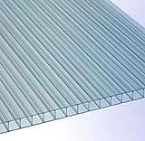 RK-Stegplatten, Polycarbonat, Stegplatten, Hohlkammerplatten, Gewächshausplatten, klar ca. 1497 x...