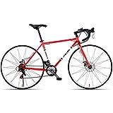 BNMKL Bike Männer Und Frauen City Fahrrad Urban Cityräd, 21 Gang-Schaltung Double Frein À Disque,...