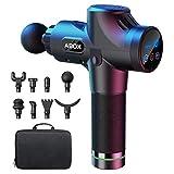 ABOX Massagepistole für Nacken Schulter Rücken Massage Gun Massagegerät Elektrisch Entspannen mit...