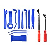 13pcs Trim Removal Tool Set Handwerkzeuge Stemmeisen Panel Door Interior Clip Remover blau