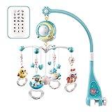 FGASAD Baby Musik-Mobile mit Fernbedienung, Babybett, Glocke, Rassel aus Kunststoff zum Aufhängen,...