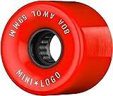 Mini-Logo Cruiserrollen A.W.O.L. A-Cut 80A (red) 55mm