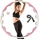 Aoweika Hula Hoop Reifen für Kinder Erwachsene, Zusammenklappbare & Einstellbare Fitness Ubung Hula...