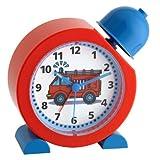 TFA Dostmann TATÜ-TATA Analoger Kinderwecker TatüTata, 60.1011.05, Feuerwehr Uhr, für Kinder...