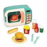 LHTY Kinderküche Pretend Play Set - Mikrowellenspielzeug Kinderspielhaus Babykochküchenset...