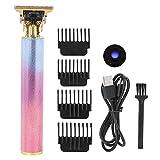 Brrnoo Haarschneider für Männer, Regenbogenfarben-Haarschneidemaschine, Elektrorasierer für...