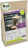 Flohsamenschalen Bio 99% Reinheit 1000g - Laborgeprüft - 100% Bio Anbau - 1kg indische Flohsamen...