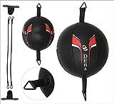 Deba® Punchingball aus Rindsleder D-Ball Cowhide Doppelendball Speedball Boxbirne DE