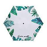 FBN Ultraleichter Mini-Sonnenschirm Aus Verdicktem Vinyl-Sonnenschutz UV-Schutz Sonnenschirm...