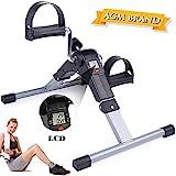 AGM Mini-Heimtrainer Fahrrad, Arm-Bein-Pedaltrainer, Fitness, Radfahren mit LCD-Monitor und...