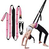 Wuudi Yoga Beinspreizer, Beinstrecker Dehnungsband Stretch Band Yoga-Gurt für Yoga, Dehnungsband...