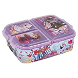 Frozen Eisknigin Kinder Brotdose mit 3 Fchern, Kids Lunchbox,Bento Brotbox fr Kinder - ideal fr...