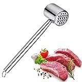 Fleischklopfer Edelstahl-Fleischhammer um Fleisch zu plattieren und weicher zu Machen -...