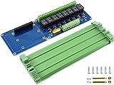 8-Kanal-Relais-Modulplatine für Raspberry Pi 4B/3B+/3B/2B/A+/B+/Zero, Jetson Nano 8-CH-Relais,...