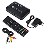 HDMI 1080P Media Player, Audio-Video-Player Box mit IR Fernbedienung 110 v-240 v (vde)(220V)