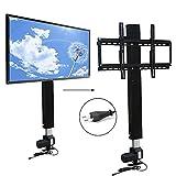 Motorisierte TV Lift Wandhalterung Elektrisch höhenverstellbarer Standfuß Flachbildschirme 70 CM...