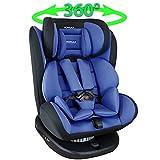 XOMAX 916 Kindersitz mit 360° Drehfunktion und ISOFIX I mitwachsend, Sitz kippbar I 0-36 kg, 1-12...