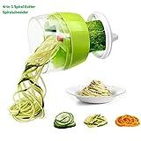 Fun Life Gemüseschneider Spiralschneider Gemüsehacker, Obstschneider, Kartoffelschneider,...