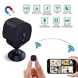 Mini Kamera WiFi, Lachesis WLAN Überwachungskamera Cam Full HD 1080P Tragbare Kleine mit...