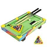 QPPWJ- Kinder Buntes Billardtisch Spielzeug, Haushaltsgroß Educational Billard, Minibrettspiele...
