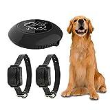KIKIRon Antibellhalsband Pet drahtlose elektronische Hunde Transmitter Hundetrainings-Kragen mit...