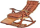 Sun Lounger Gartenstühle Klappbare Nap Nap Schaukel Liege, tragbare Haushalt Sun Lounger Bambus Old...