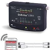 Bluetooth Easy SatFinder - DUR-line SF 4000 BT - mit 8 vor eingestellten Satelliten inkl....