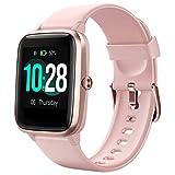 Letsfit Smartwatch, 1.3 Zoll Touchscreen Fitness Armbanduhr, Fitness Tracker mit Pulsuhr, IP68...