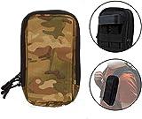 Clakit StrapPack 2 Reißverschlusstaschen für Reisen, Rucksack, Reisepasshalter, Camouflage, XL