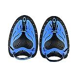 Sunflower-boom Kraft-Handpaddel, Unisex, schwimmende Schwimmpaddel fr Training Erwachsene blau