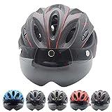 Fahrradhelm Herren Damen,CE-Zertifikat -Mtb Helm Sicherheitsschutz Radhelm Rennradhelm mit...