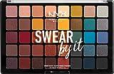 NYX Professional Makeup Lidschattenpalette Swear By It Shadow, 40 g