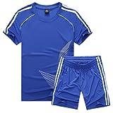 Inlefen Fuballuniform Passen Kind Kurz rmelTrikot und Shorts Jungs Mdchen Trainingsanzug