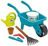 Ecoiffier – Schubkarre und Werkzeuge – Gartenwerkzeug für Kinder – ab 18 Monaten, 4558