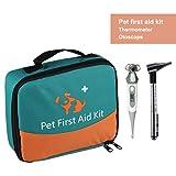 Erste-Hilfe-Set für Haustiere, Tierärztliche Erste-Hilfe-Tasche für Hunde, Katzen, Kaninchen,...