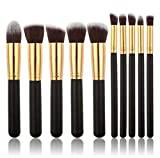 Scpink Make-up-Pinsel, 10 Stück Professional Make-up Pinsel Set Kosmetik Pinsel Set Lidschatten...