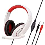 N&I High-end SY722MV Gaming Headset with Adjustable Headbeam Lightweight Headphone for...