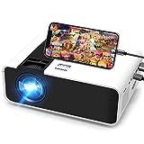 Mini Beamer, Tulab 5000 Lumen Heimkino Beamer, 1080P Full HD Unterstützt tragbarer Projektor mit...