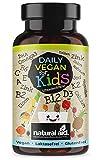 Daily Vegan for Kids - Vitamine & mehr mit B12 + D3 + K2 + Omega3 + B2 + B6 + A + C + E + Calcium +...
