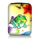 Luxburg Design Tasche Hülle Sleeve Etui für eBook Reader und Tablet PC bis 7 Zoll, Motiv: Bunter...