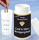 WENKO Diamond Clean Gold- & Silber Reinigungsbad - Schmuckreiniger, Chemische Zusammensetzung, 7 x...
