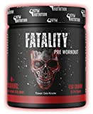 FATALITY - Ultra Hardcore Booster Pre workout - Pulver - 2020 USA Matrix - ATP + L-Arginin +...
