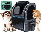 dainz® NEU! Einzigartiger Hunde-Rucksack für kleine Hunde bis ca. 7kg inkl. Anschnallgurt &...
