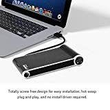 LanLan OImaster Gehuse fr Externe Gehuse + 2-in-1 Ladestation fr HDD SATA auf USB 3.0 SDD
