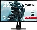 iiyama G-Master Red Eagle GB3266QSU-B1 Curved 80cm (31,5 Zoll) VA LED-Monitor WQHD (HDMI,...