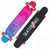 XUEYING-KickScooter Anfnger Profi Ahorn Skateboard Longboard Erwachsene Road Brush Street Dance...