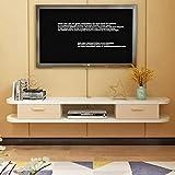 GLJJQMY Wandregal Wandregal TV-Schrank Regal Top Box DVD-Player Rahmen TV-Konsole geeignet für...