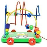 Luoji Motorikschleife Aus Holz, Holzspielzeug Motorikspielzeug, Motorik Maze Spielzeug Für Kinder,...
